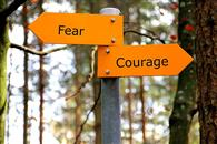 'Courage Is Not The Absence Of Fear, But Doing What You Believe In, Despite That Fear!'