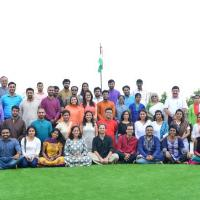 Independence Day celebration at Campus